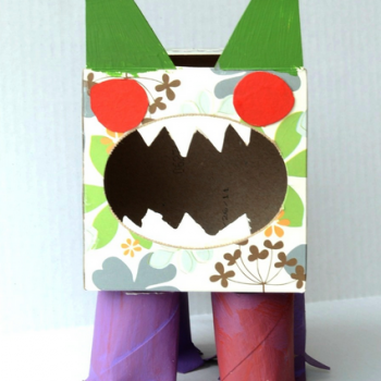 Tissue Box Germ Monster