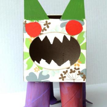Tissue Box Germ Monster