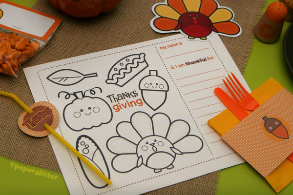 Thanksgiving & Fall Printable Kit