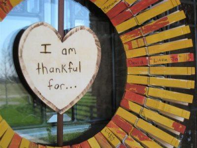 Thanksgiving Clothespin Wreath