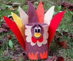 Recycled Can Turkey