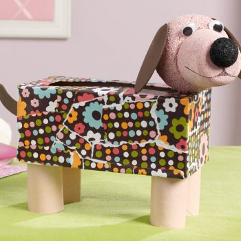 Tissue Box Doggie