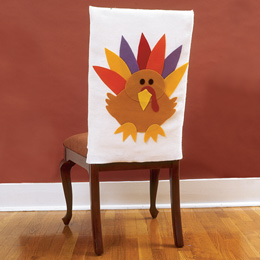 Turkey Chair Covers Fun Family Crafts
