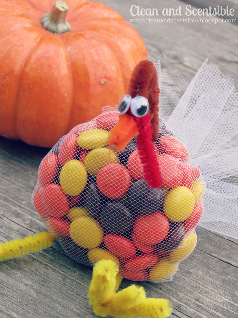 Tulle Turkey Treats Fun Family Crafts