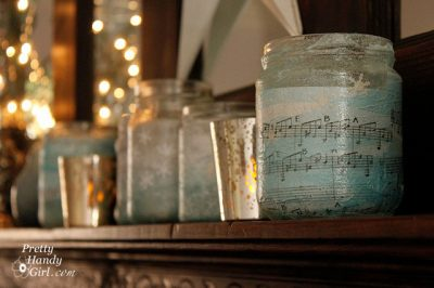 Music Votive Holders