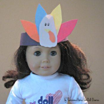 Turkey Crowns for Dolls