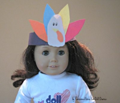 Turkey Crowns for Dolls