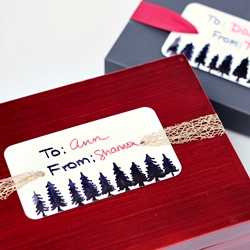 Easy Recycled Gift Tags