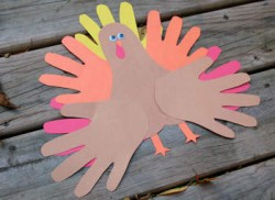 Hands & Feet Paper Turkey