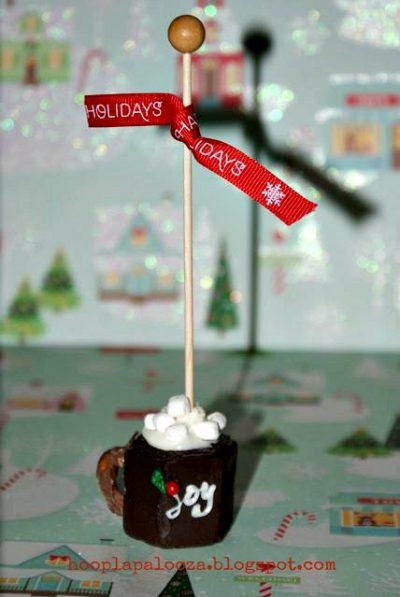 Mini Christmas Cups of Cocoa