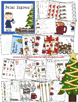 Polar Express Printables