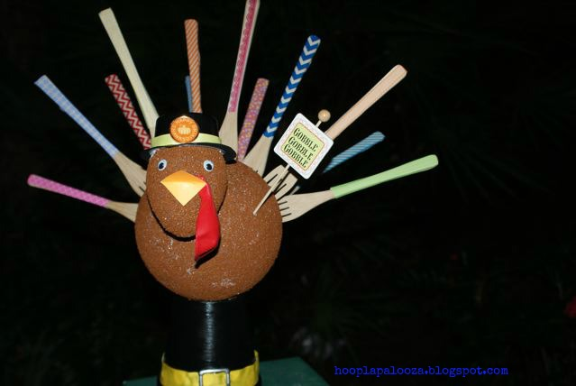 Washi Tape Fork Turkey