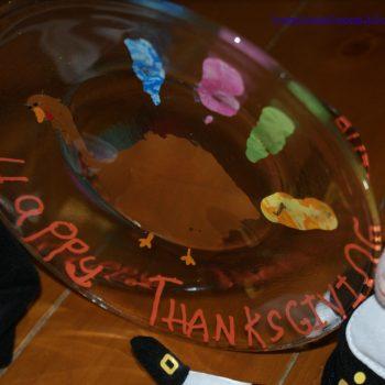 Turkey Handprint Plates