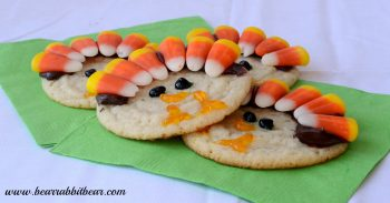 Thanksgiving Tom Turkey Cookies