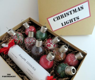 Christmas Light Cookie Decorating Kit
