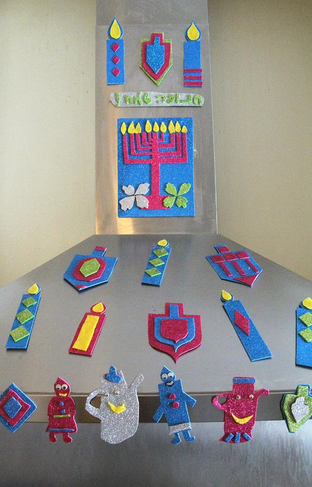 Hanukkah Magnets