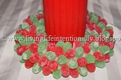 Gum Drop Wreath
