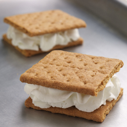 Frozen Graham Cracker Sandwiches