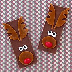 Candy Bar Reindeer