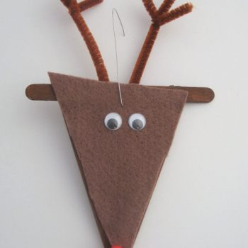 Craft Stick Reindeer