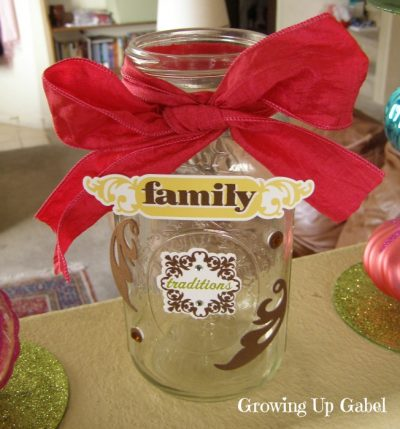 Family Memory Jar
