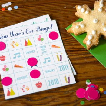 New Year's Eve Bingo Printable