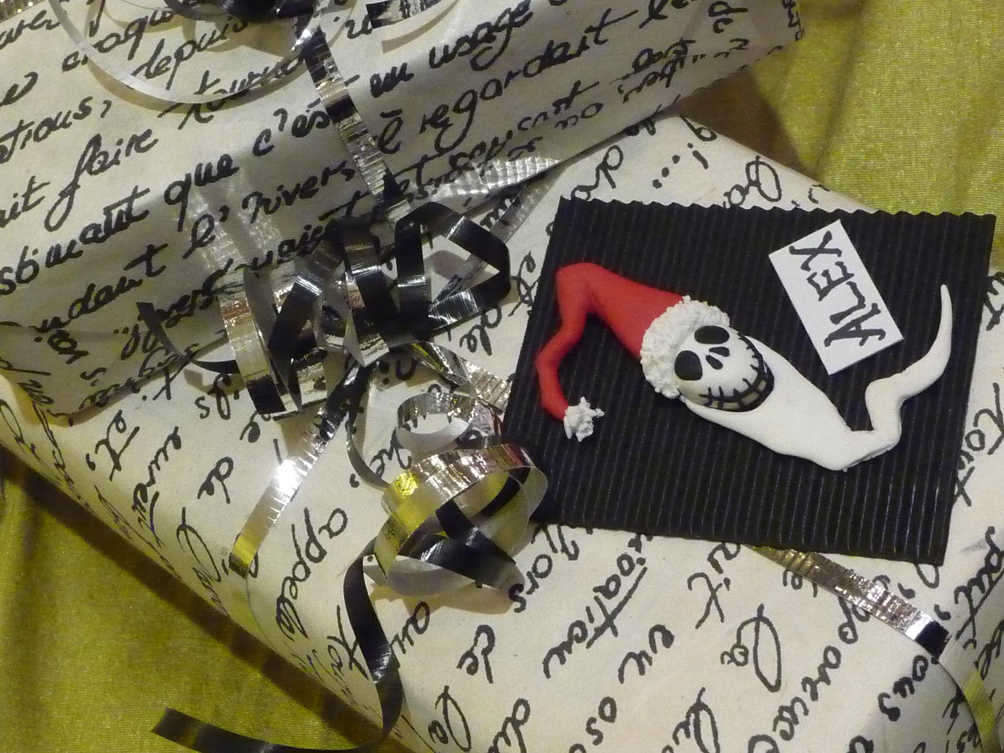 Santa Jack Gift Tag