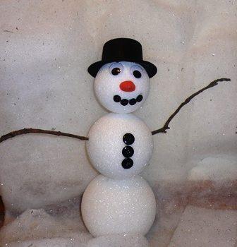 Easy Snowman Craft