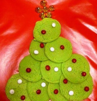 Christmas Tree Pancakes