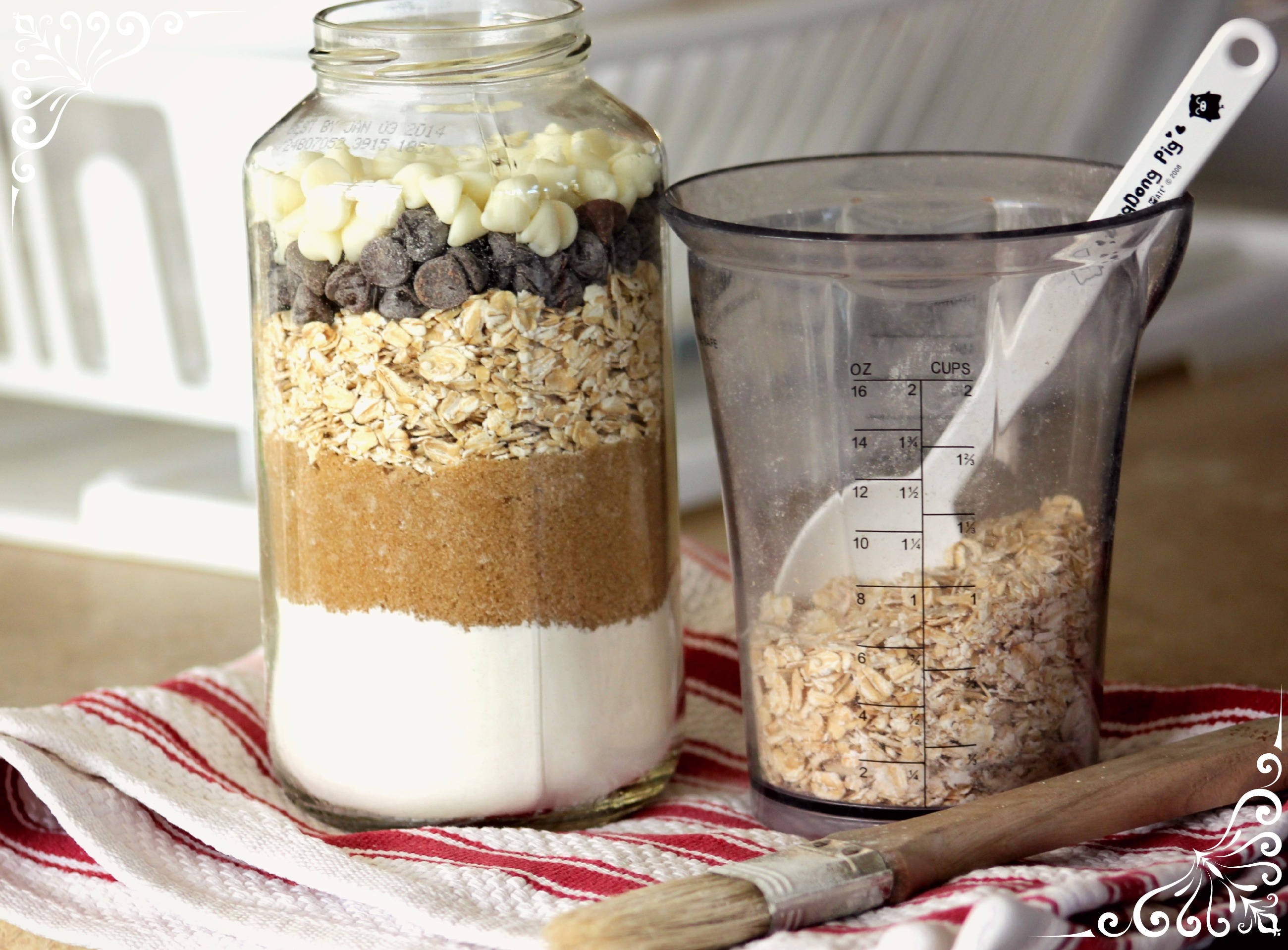 Recycled Cookie Ingredient Jars Fun Family Crafts
