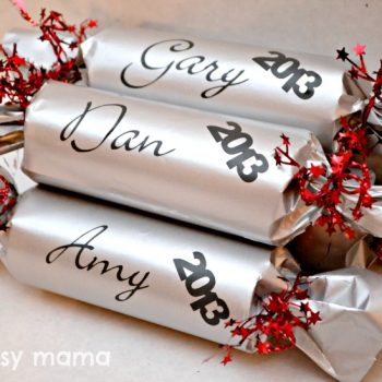 New Year Placecards