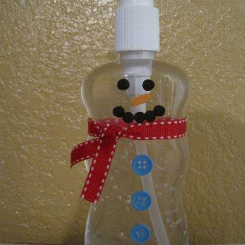 Snowman Hand Sanitizer