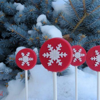 Snowflake Pops