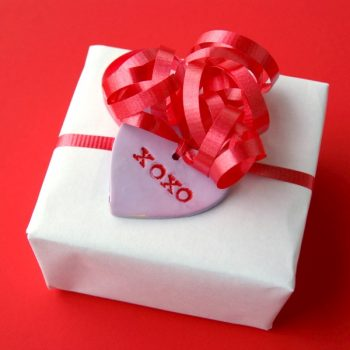 Polymer Clay Valentine Gift Tags