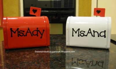 Easy Valentine Tins