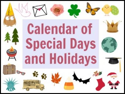 Special Days and Holidays   Fun Family Crafts