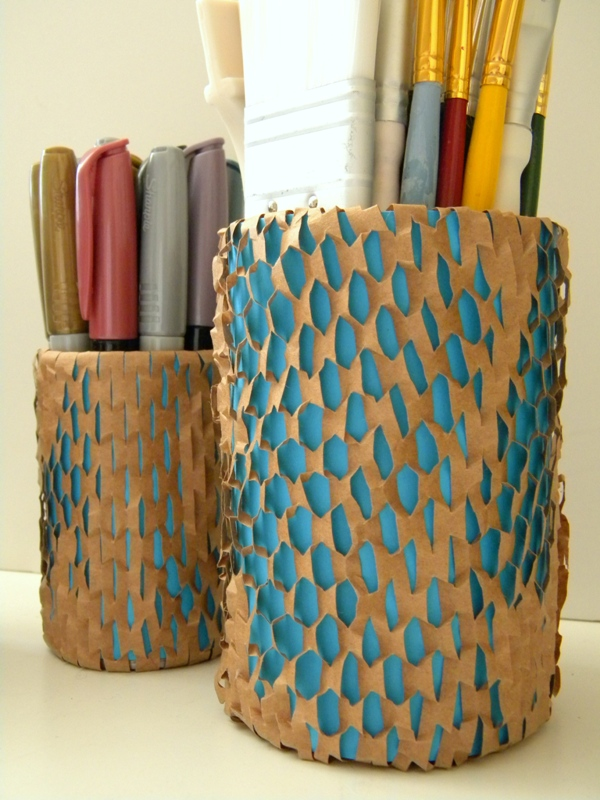 Recycled Wrap Pencil Can
