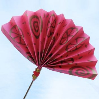 Chinese New Year Paper Fan