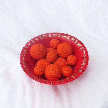 Chinese Orange Tray