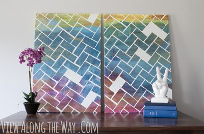 Herringbone Art
