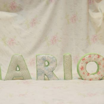 No Sew Fabric Letters