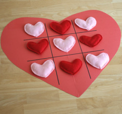 Tic-Tac-Toe Hearts