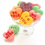 Conversation Heart Fudge