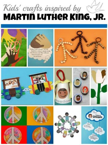 Martin Luther King Day crafts for kids