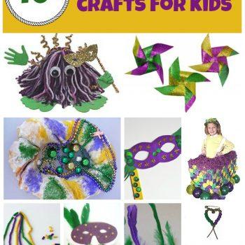 Mardi Gras Crafts and Recipes
