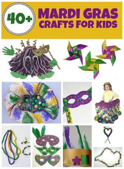 Mardi Gras Crafts and Recipes | Fun Family Crafts