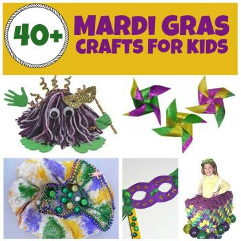 Mardi Gras Crafts and Recipes