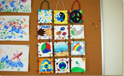 Fathers Day Tile Craft