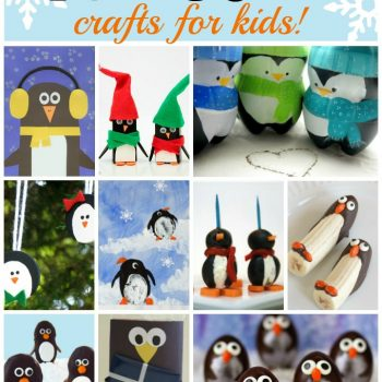 Penguin Crafts and Recipes for Kids