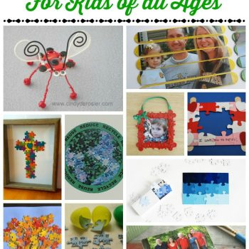 Celebrate National Puzzle Day with Puzzle Crafts for Kids